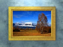 Autumn picture Royalty Free Stock Images