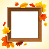 Autumn Picture Frame Royalty Free Stock Images