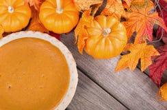 Autumn Pie Royalty Free Stock Photos