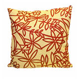 Autumn pillow Stock Image
