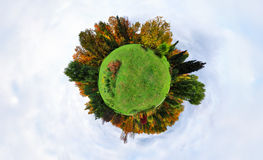 Autumn planet Stock Photography