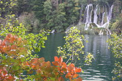 Autumn in Plitvice National Park, Croatia Royalty Free Stock Photos