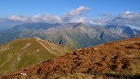 Mountains. Autumn in polsih mountain Taras stock images