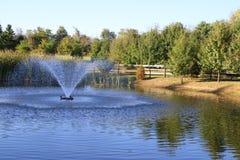 The fountain. Stock Photos