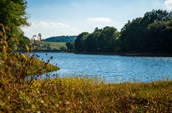 Autumn pond Royalty Free Stock Photos