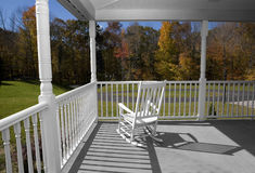 Autumn Porch stock photos