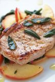 Autumn Pork Chop Stock Photography