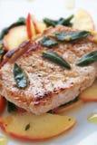 Autumn Pork Chop Stock Photography