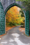 Autumn Portal Royalty Free Stock Photography