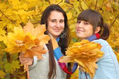 Autumn portrait Royalty Free Stock Photography