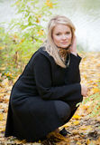 Autumn Portrait Stock Photography