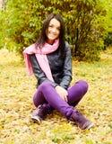 Autumn portrait Royalty Free Stock Photography