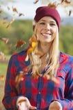 Autumn portrait Royalty Free Stock Images