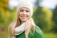 Autumn portrait Stock Photo