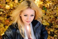 Autumn Portrait Royalty-vrije Stock Afbeeldingen
