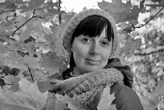 Autumn Portrait fotografía de archivo