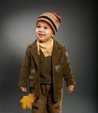 Autumn portrait Royalty Free Stock Image