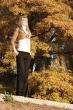 Autumn Portrait. Portrait of a young girl stock images