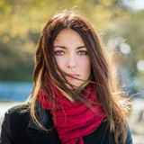 Autumn portrait. Royalty Free Stock Photo