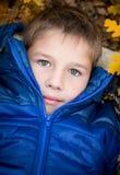 Autumn Portrait  little boy Stock Photography