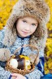 Autumn Portrait  littler boy Stock Images