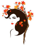 Autumn portrait vector Stock Photo
