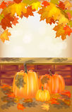 Autumn , postcard . Stock Image