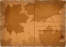 Autumn postcard Stock Photography