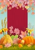 Autumn Poster Flyer stock illustration