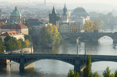 Autumn Prague Royalty Free Stock Image