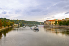 Autumn Prague Royalty Free Stock Photo