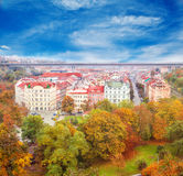 Autumn in Prague Royalty Free Stock Images