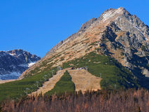 Autumn at Predne Solisko, High Tatras stock images