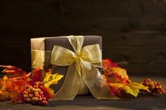 Autumn Present Imágenes de archivo libres de regalías