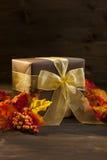 Autumn Present Royalty Free Stock Photo