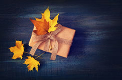 Autumn presents Stock Photos