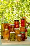 Autumn preserves Stock Photos