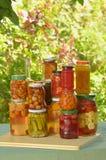 Autumn preserves Stock Photography