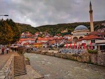 Autumn. Prizren City,Kosovo ,based on the South of Balkan Stock Photography