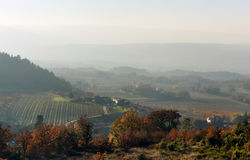 Autumn in Provence. Provence-Alpes-Cote d`Azur. France Royalty Free Stock Photo