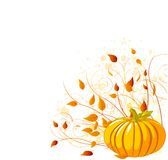 Autumn Pumpkin Stock Photography