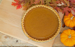 Autumn Pumpkin Pie stockbilder