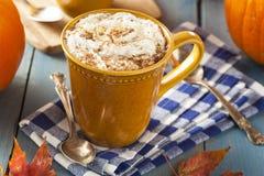 Autumn Pumpkin Spice Latte foto de stock royalty free