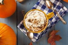 Autumn Pumpkin Spice Latte photos stock