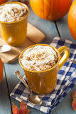 Autumn Pumpkin Spice Latte Royalty Free Stock Photos