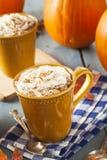 Autumn Pumpkin Spice Latte Stock Image