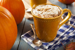 Autumn Pumpkin Spice Latte Royalty Free Stock Images