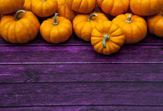 Autumn Pumpkin Thanksgiving Background Stock Photo