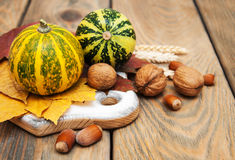 Autumn Pumpkins Fotos de Stock