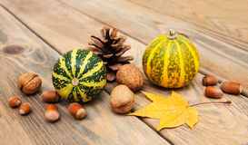 Autumn Pumpkins Photographie stock libre de droits